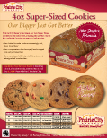 4oz Cookies sell sheet